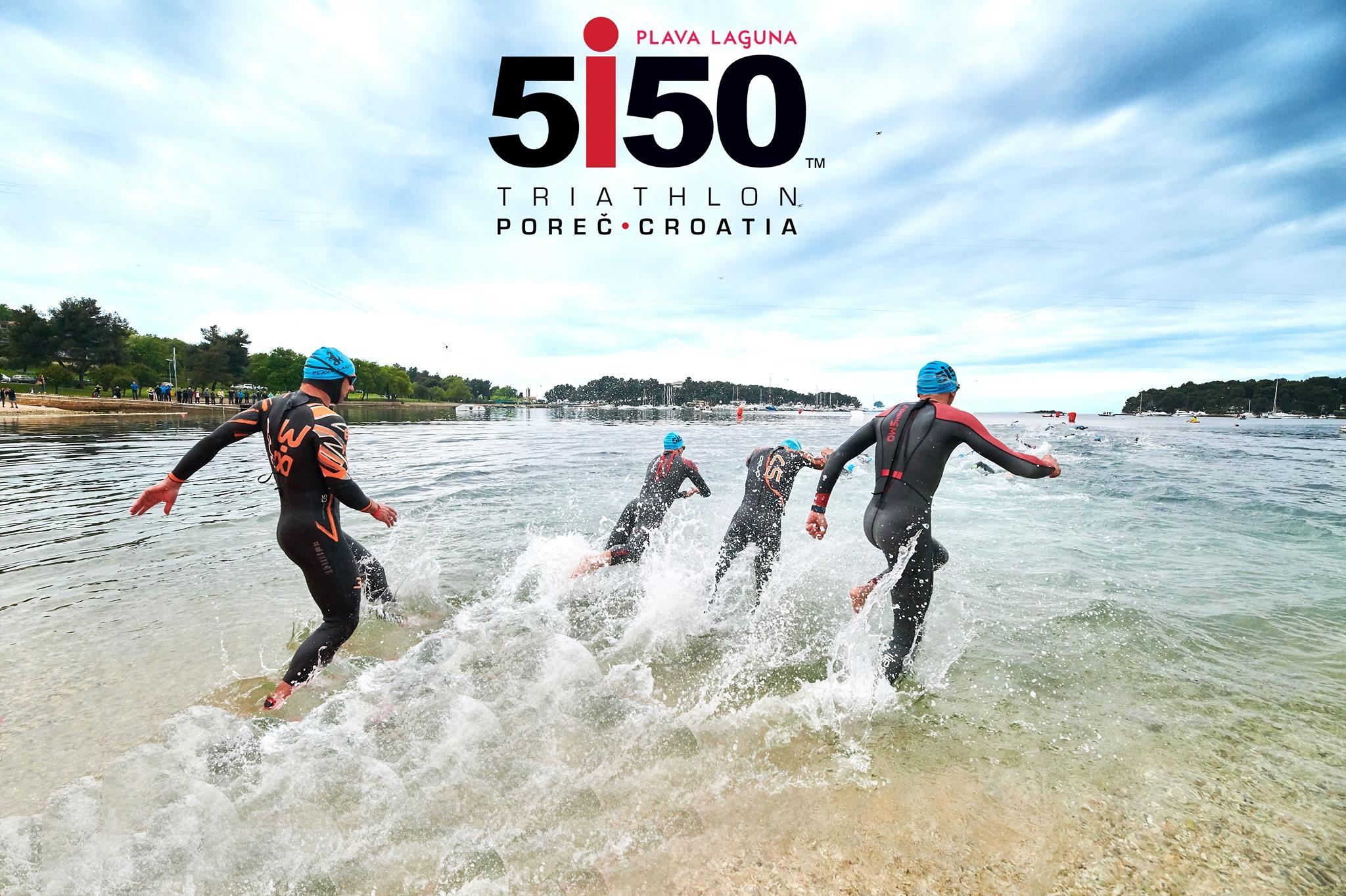 Plava Laguna triathlon 5150 Poreč