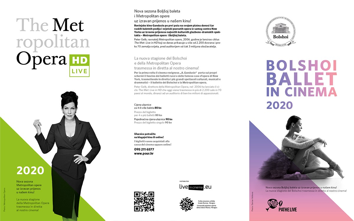 The Metropolitan Opera & Bolshoi Ballet in Cinema 2020
